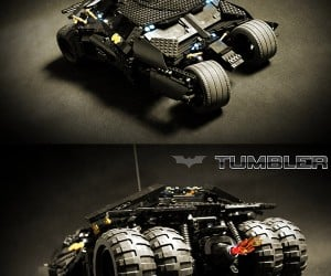 Motorized LEGO Tumbler: Where Does He Get Those Wonderful Toys?