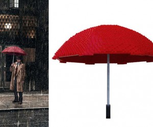 LEGO Umbrella Actually Keeps You Dry