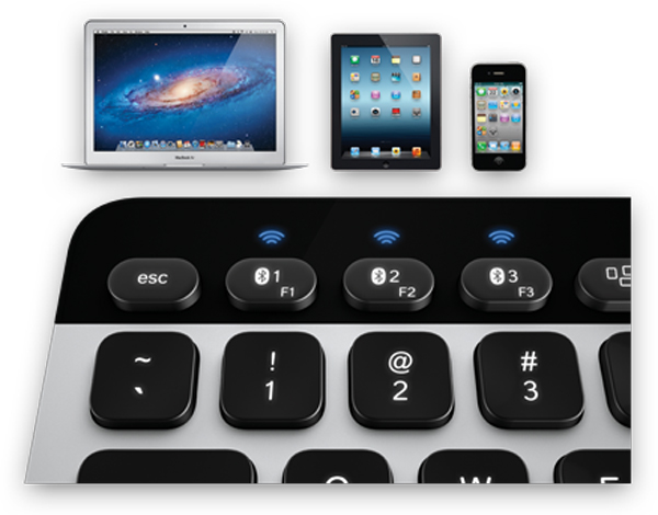 logitech keyboard trackpad bluetooth mac easy switch