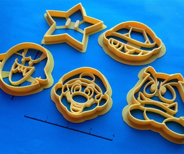 Custom 3d Printed Cookie Cutters Give You Awesomely Custom
