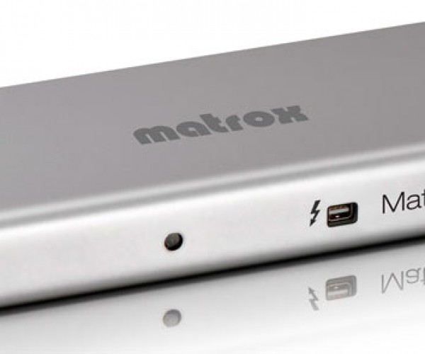 Matrox DS1 Thunderbolt Docking Stations Ship in the US