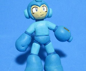 Mega Man and the Robot Masters Turned Into Clay Men