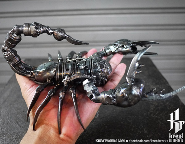 Giant Metal Scorpion is the Terminator of Arthropods - Technabob