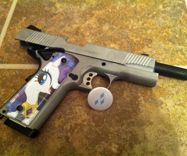 My Little Pony Handgun: Friendship is a Semi-Automatic