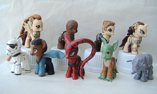 my little pony star wars
