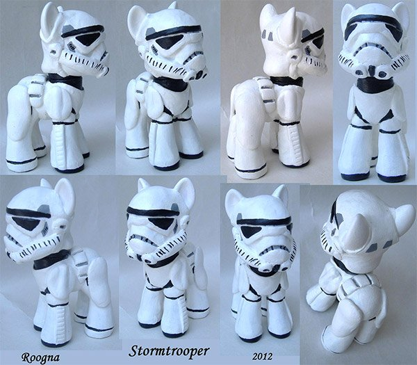 my little stormtrooper pony
