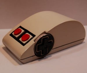 NES Controller Wireless Mouse: Great with Emulators