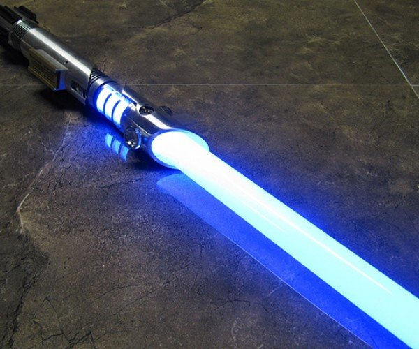 These Are Not Lightsabers, Just Sabers That Light Up