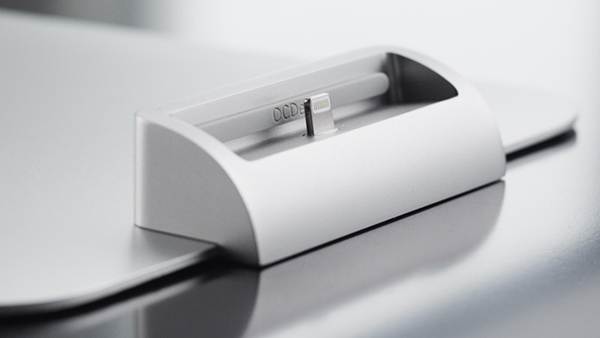 ocdock iphone imac kickstarter stand charger design