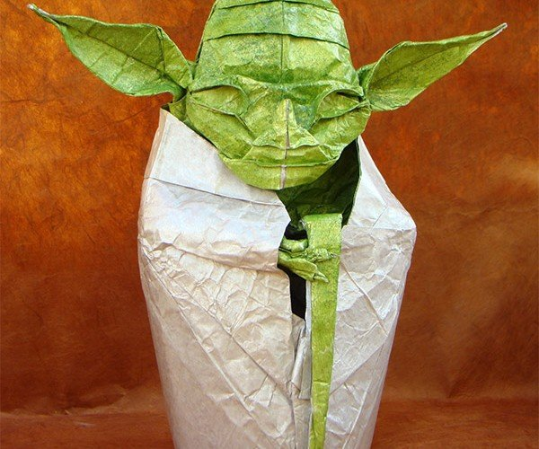 Do or Do Not Do Origami, There is No Try