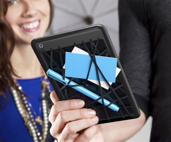 Web iPad Case Adds Bungee Cords for Storage