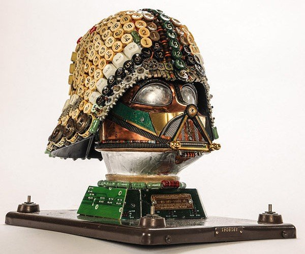 Darth Vader Gets Upcycled: The Junk Side of the Force
