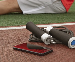Revolve Bluetooth Jump Rope: Float Like a Butterfly, Exercise Like a Geek