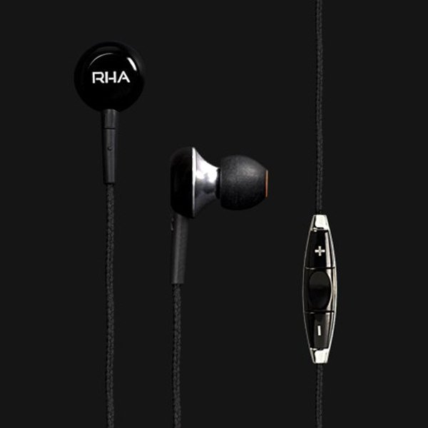 rhama450i earphones black photo