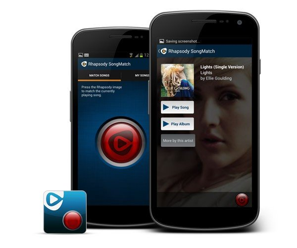 Rhapsody Launches SongMatch Android Music Identification App