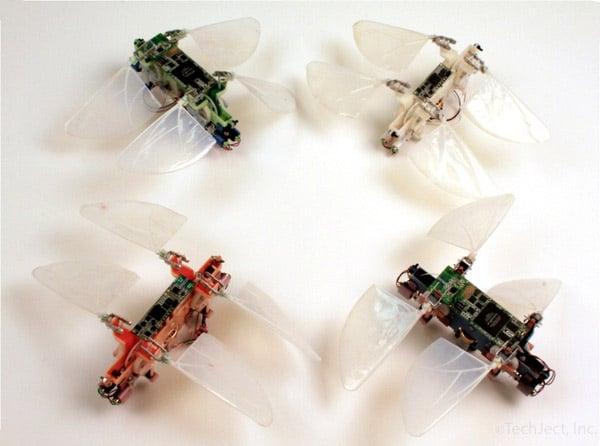 robot dragonflies
