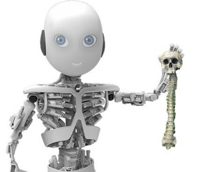 Roboy Humanoid Robot Looks Like a Teen Terminator