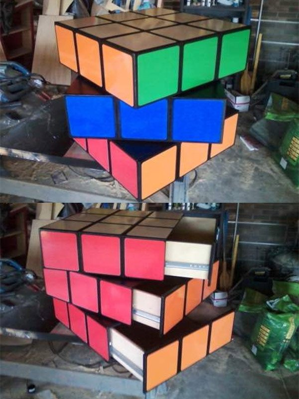 rubiks cube drawers 1