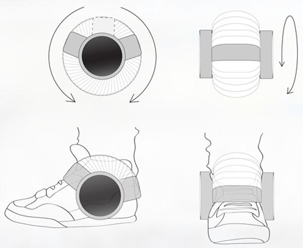 sneaker speaker bluetooth concept ray kingston