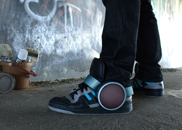 sneaker speaker bluetooth concept ray kingston