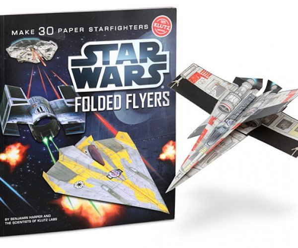 Star Wars Folded Flyers Use the Force of Your Own Hand