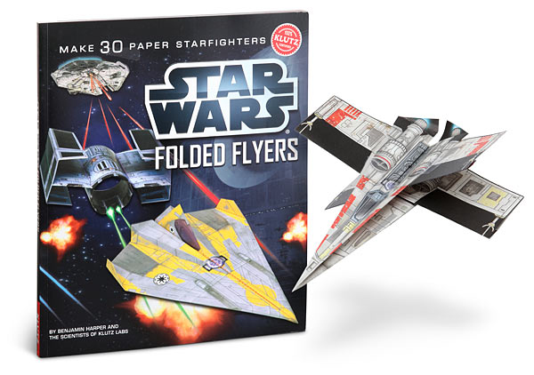 star-wars-folded-flyers-book-paper-airplanes