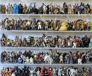 Instant Collection: 1,950-Piece 'Star Wars' Action Figures up for Auction on eBay