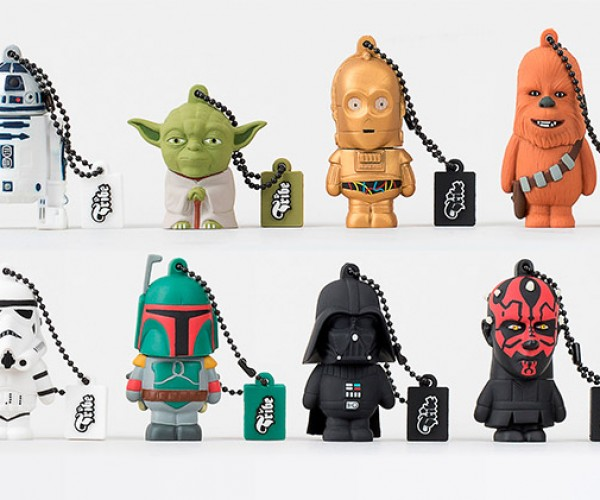 Tribe Releases World's Least Bulbous Star Wars Flash Drives
