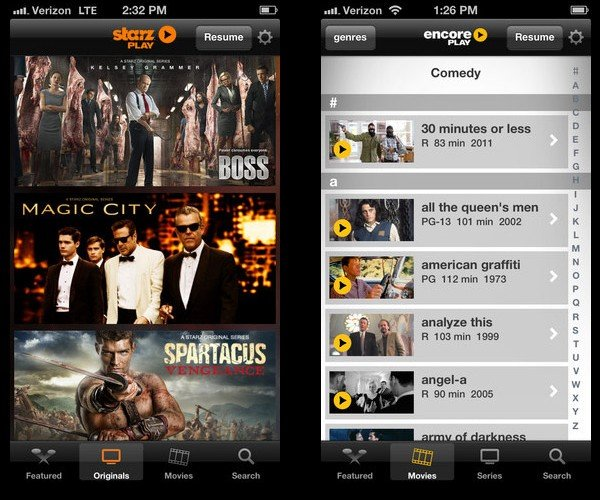 DirecTV Subscribers Can Now Get Starz and Encore on the Go