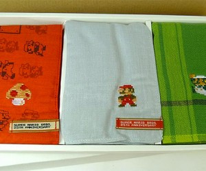 Super Mario Handkerchiefs: It's-achoo Mario!