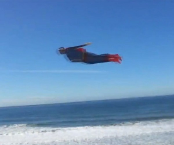 Flying Superman: Best R/C Plane Ever?