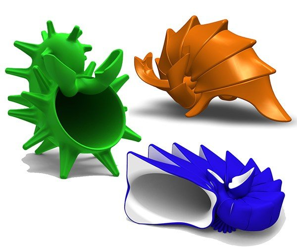 3D Printed Symphony Shells Amplify Smartphones with Style