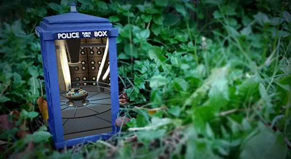tardis augmented reality replica by greg kumparak