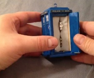 TARDIS Engagement Ring Box is Shinier on the Inside