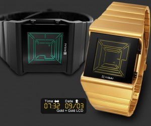 Tokyoflash Kisai Space Digits Watch: Initially Dumbfounding but Easily Readable