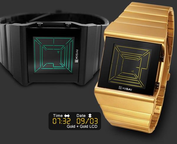 tokyoflash space digits digital watch kisai retro