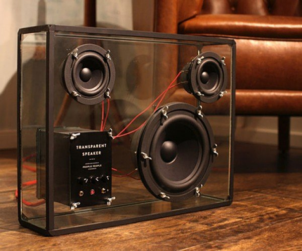 Transparent Speaker Being Transparently Funded on Kickstarter