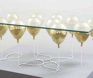Up Balloon Coffee Table Lifts Spirits Despite Its Inflated Price Tag