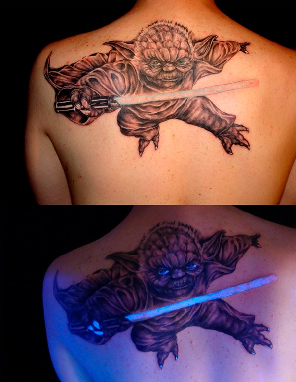 uv yoda tattoo