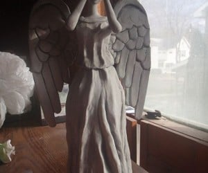 Weeping Angel Tree Topper: Just Don't Use Blinking Lights
