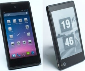 YotaPhone Has Both Touchscreen & E-Ink Display, Hastens the Death of E-Book Readers