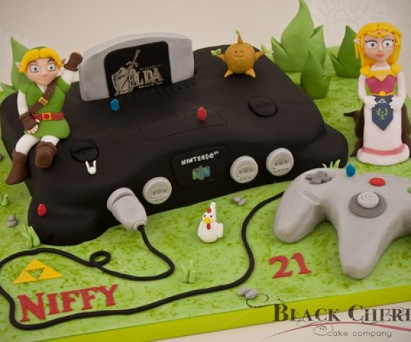 Zelda 64: The Ocarina of Cake