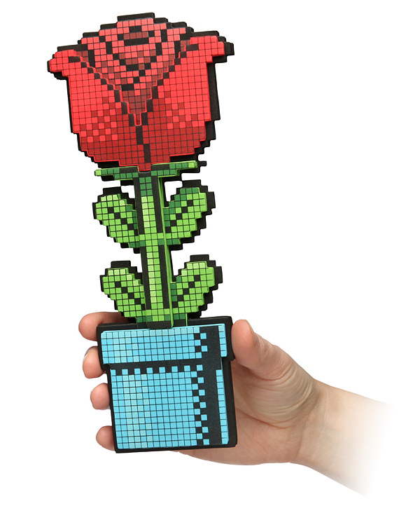 8 bit rose thinkgeek