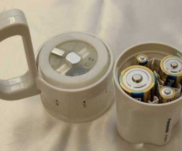 Use Different Size Batteries in Panasonic's (Truly) Emergency Flashlight