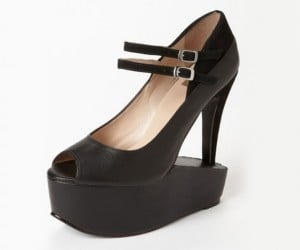 Flip Flop Mary Jane with Inverted Platform Pumps: The Schizophrenic Shoe