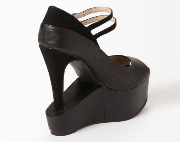 535dc2f35dbf Flip Flop Mary Jane with Inverted Platform Pumps  The Schizophrenic Shoe