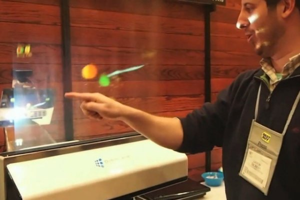 Displair Cloud Vapor Display Lets You Play Fruit Ninja (Minus the Actual Fruits) In Real Life