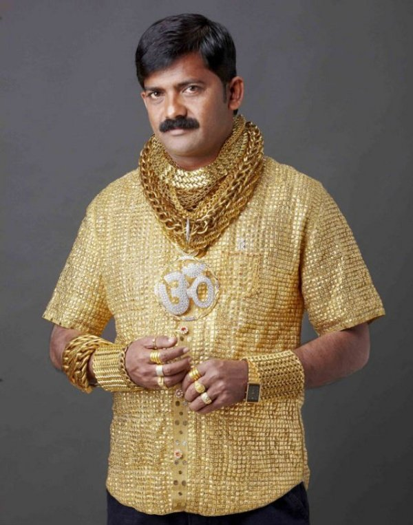Gold Shirt Guy