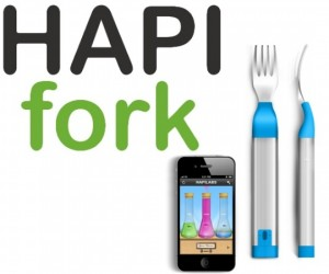 HAPIfork Lets You Know When It's Time to Stop Stuffing Your Face
