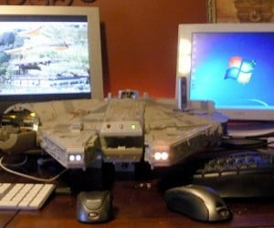 Millennium Falcon Mac and PC Computer in One